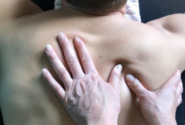 a deep tissue massage